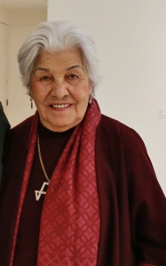 Monir Shahroudy Farmanfarmaian at The Guggenheim on March 11, 2015