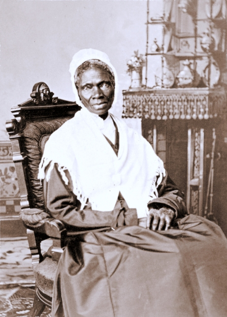 """Sojourner truth c1870"" by Randall Studio - National Portrait Gallery, Smithsonian Institution."